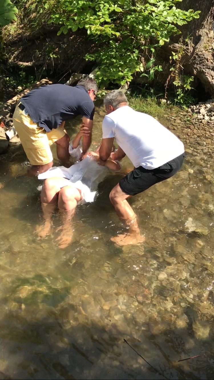 Battesimo di Cristina