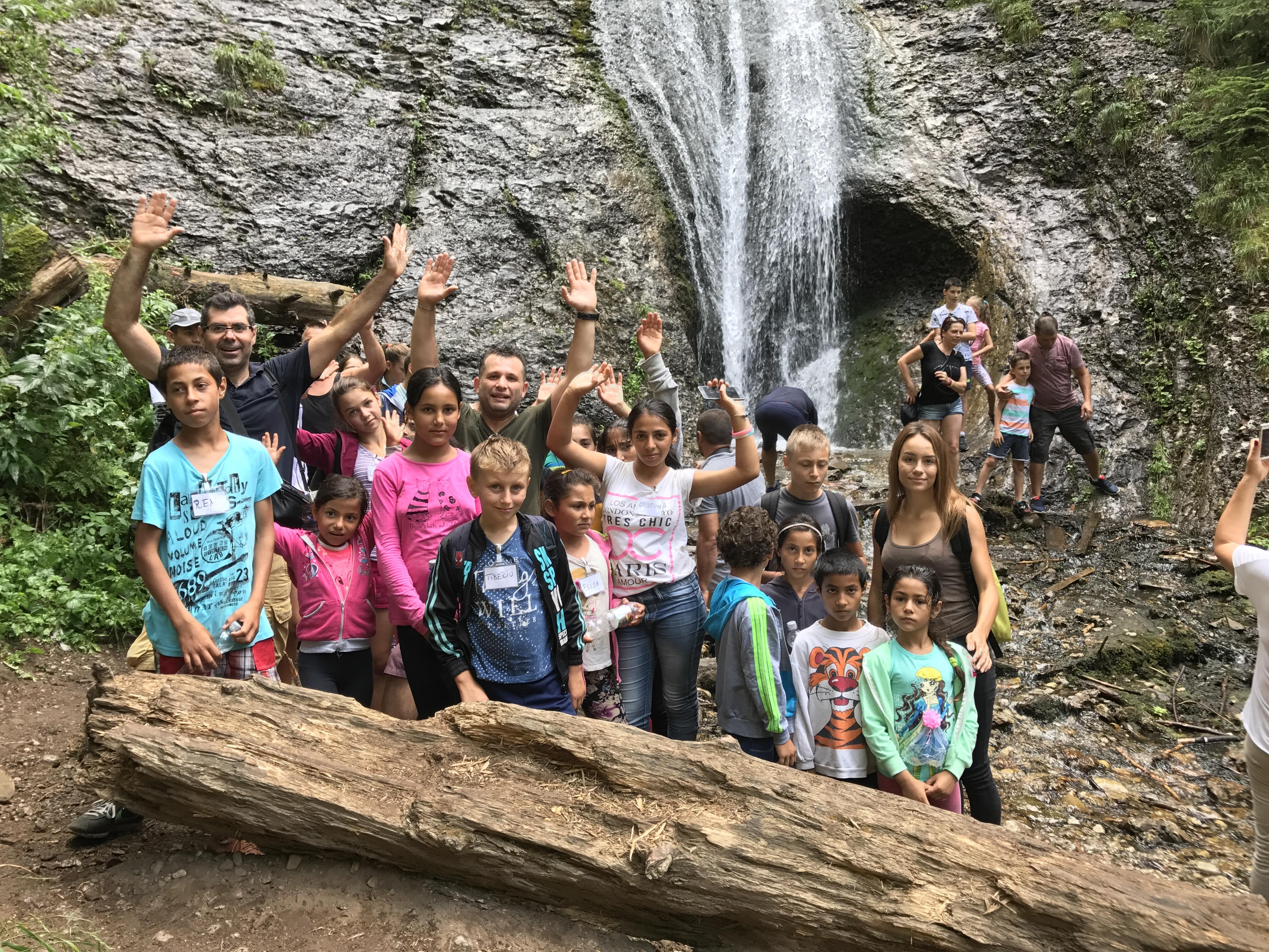Escursione alla Cascata