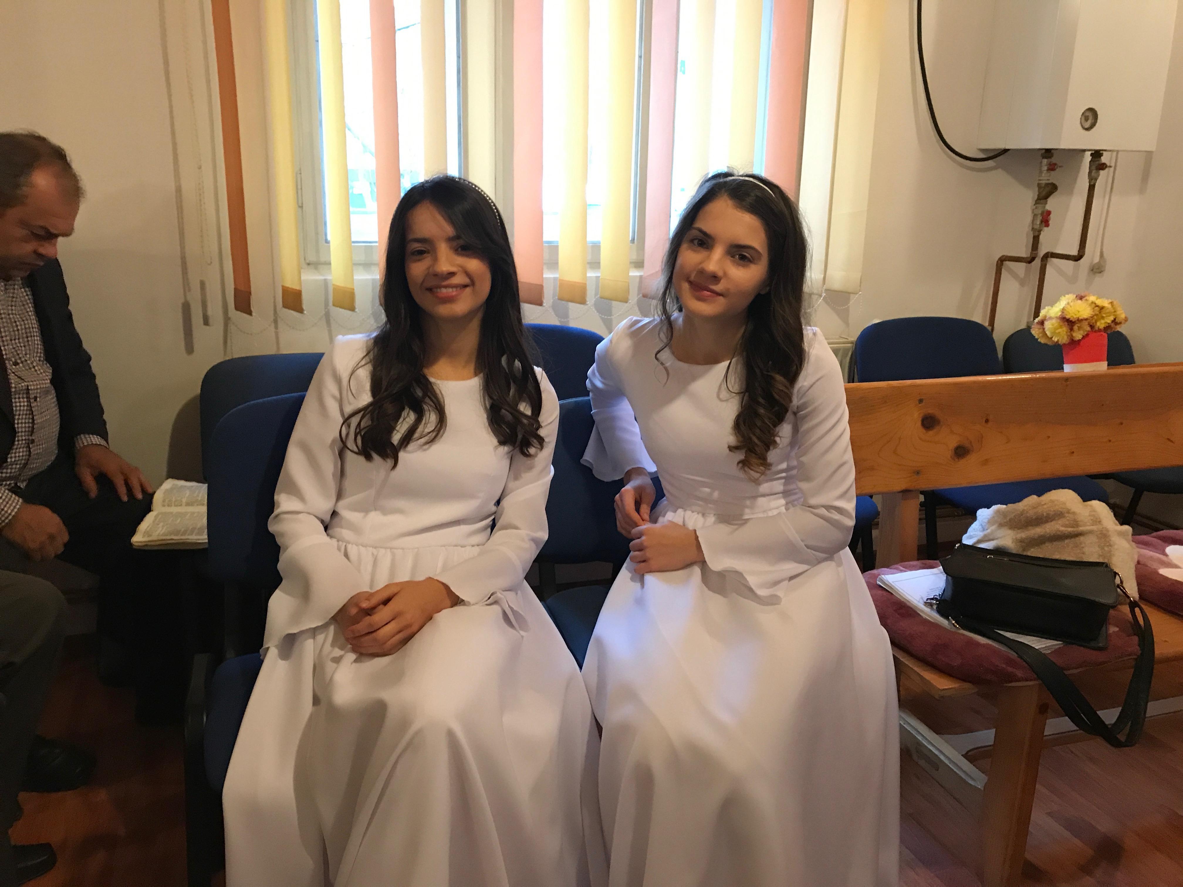 Pronte per il battesimo