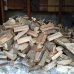 cumulo di legna