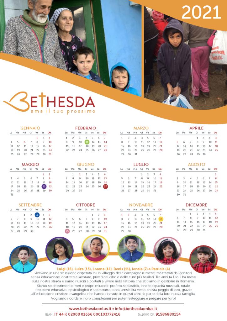 Calendario Bethesda 2020
